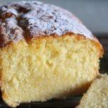 Lemon Ricotta Pound Cake