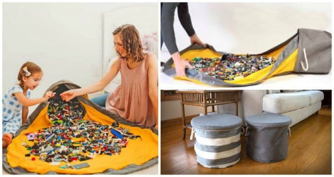 SlideAway Lego Toy Storage Basket