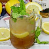 Bourbon Mint Tea