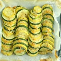 Do you have plenty of zucchini and yellow squash you'd like to use? Our Summer Squash Zucchini uses 2 pounds sliced thin.