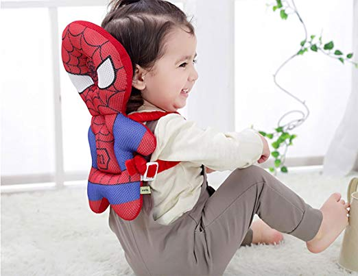 Baby Head Protector - Spider Man