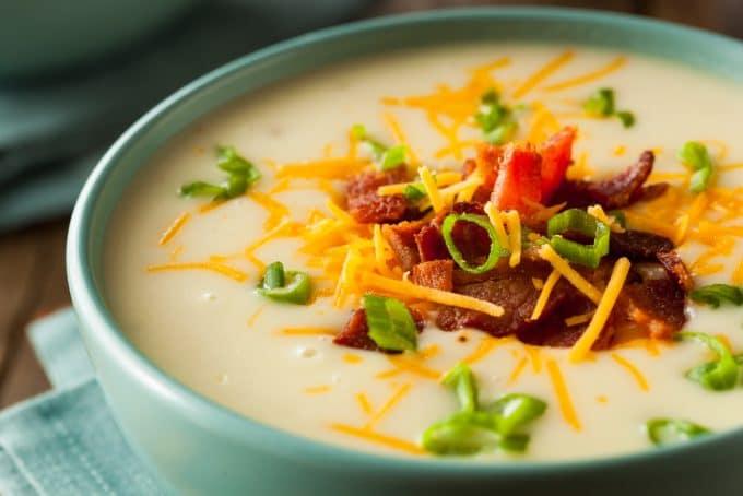 Creamy Cauliflower Soup - Low-Carb Keto Friendly