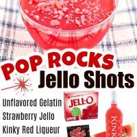 Pop Rocks Jello Shots