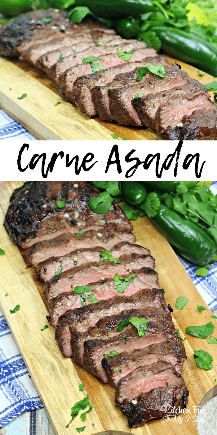 Our recipe for Carne Asada, a dish made with grilled and seasoned beef, will become one of your new family favorites.