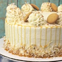True lovers of both cake and banana pudding will flip for Banana Pudding Layered Cake. It calls for an entire bottle of caramel sauce!