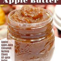 Salted Caramel Apple Butter