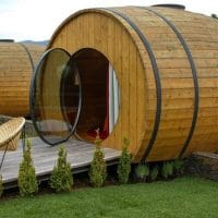 This Is Where You Can Sip Wine and Sleep In a Giant Wine Barrel