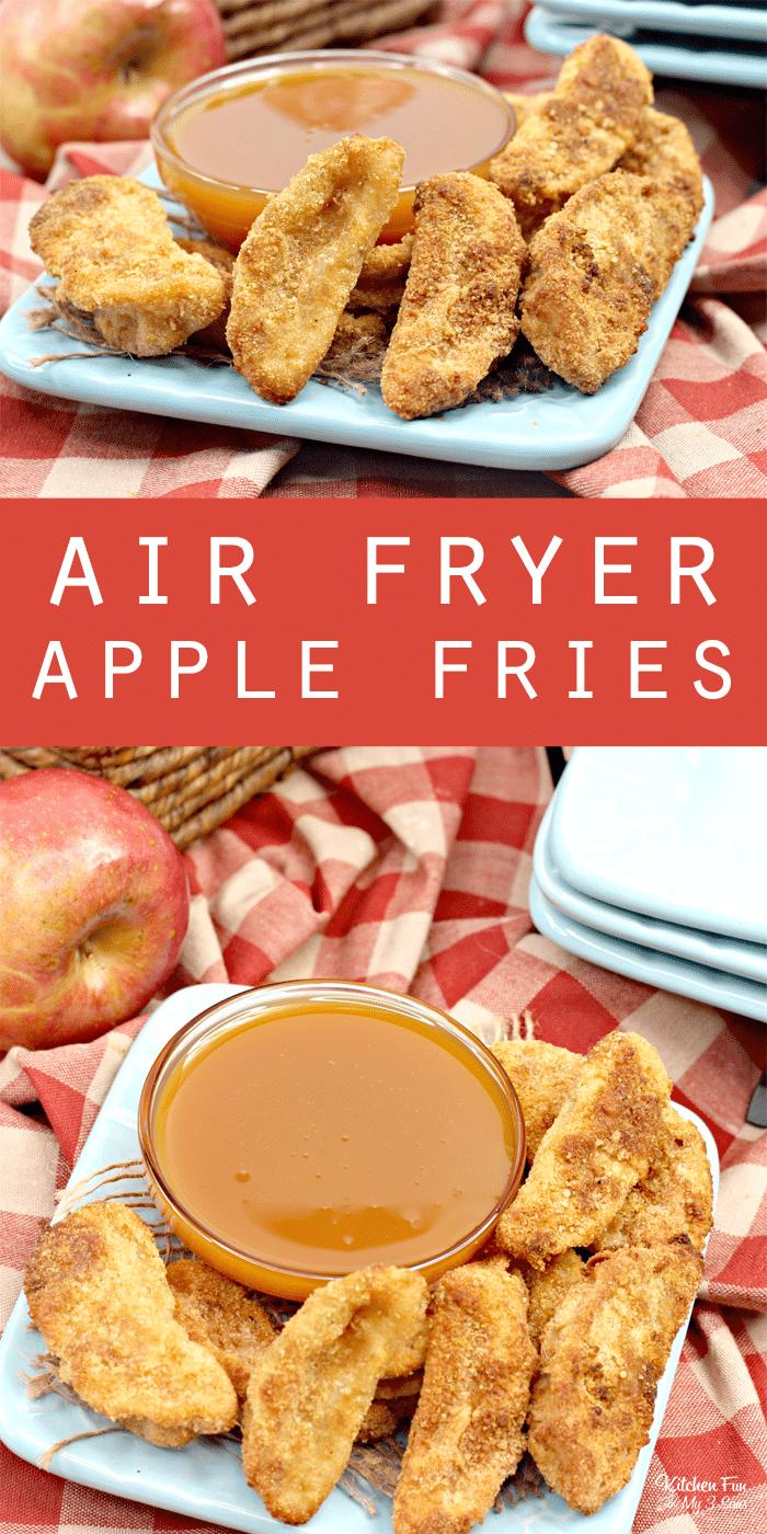 Air Fryer Apple Fries
