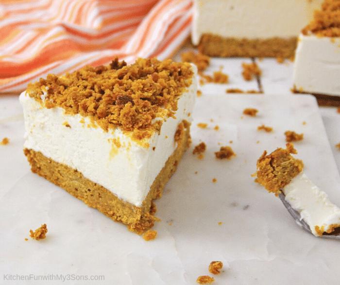 Pumpkin Bread Cheesecake