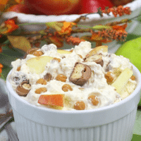 Twix Caramel Apple Salad