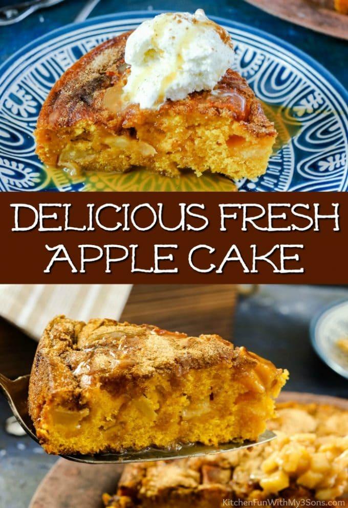 Delicious Fresh Apple Cake