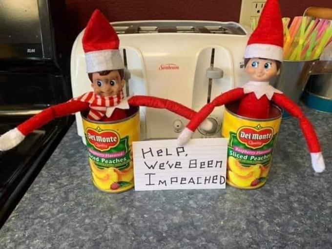 We've Been Impeached Elf