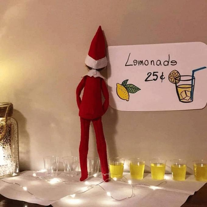 Lemonade - Naughty Elf on the Shelf