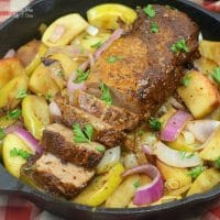 Harvest Pork With Apples