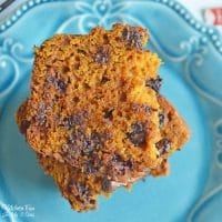 Pumpkin Chocolate Chip Bread - Easy and Moist