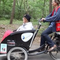 Volunteers Are Taking Seniors On Rickshaw Rides To Get Them Out In Nature