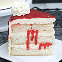 Layered Bloody Vampire Cake Recipe