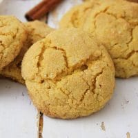 Easy Pumpkin Spice Sugar Cookies