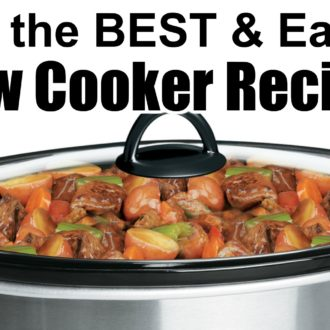 30 of the BEST Slow Cooker Recipes