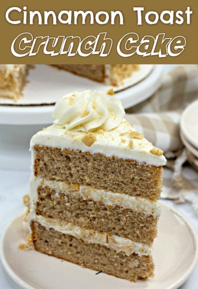 Cinnamon Toast Crunch Cake