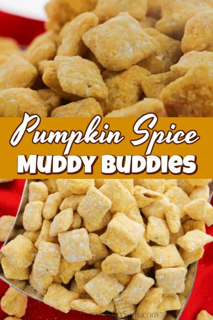 Pumpkin Spice Muddy Buddies