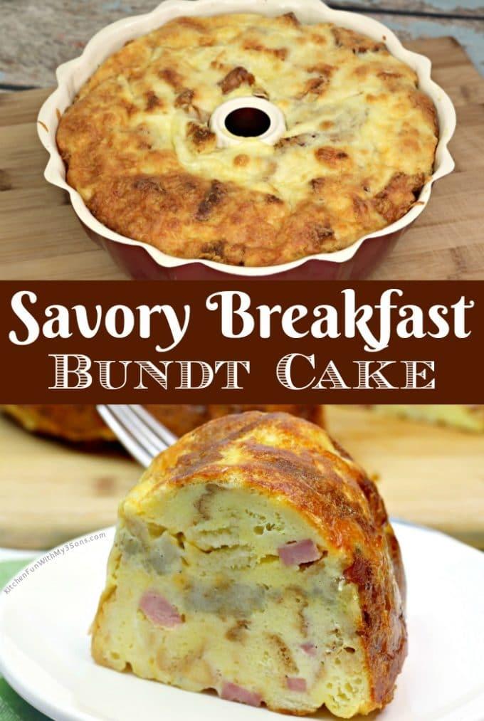 Savory Breakfast Bundt Cake