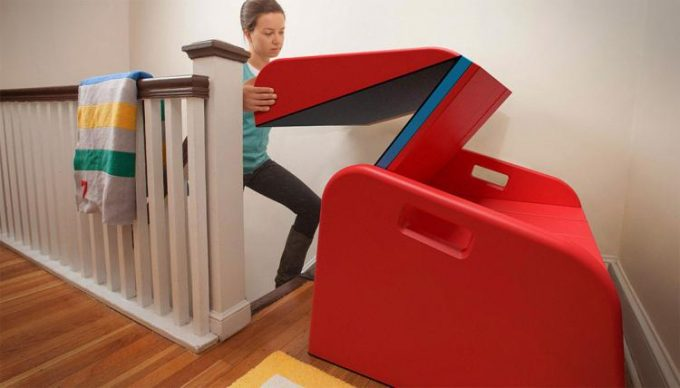 SlideRider turns your Stairs into a Slide