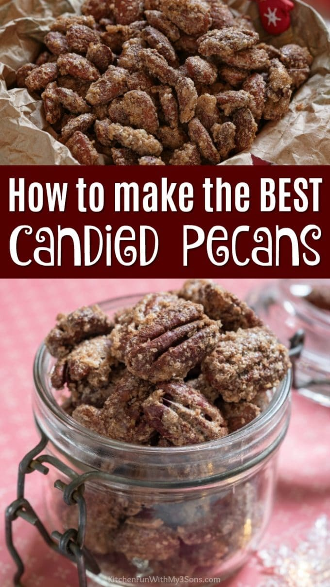 How To Make The BEST Candied Pecans Recipe