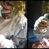 Pregnant Mom Goes Into Labor On Halloween And Her Doctor Is Dressed As The Joker