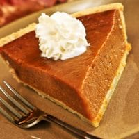 Fireball Whiskey Pumpkin Pie