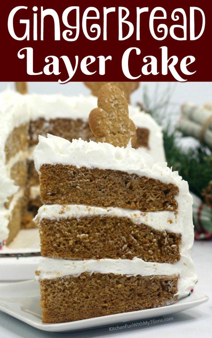 Gingerbread Layer Cake