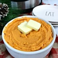 Instant Pot Mashed Sweet Potatoes