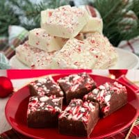Peppermint Fudge - 2 Ways