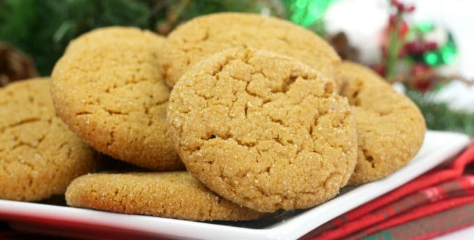 Soft Gingersnap Cookie Recipe