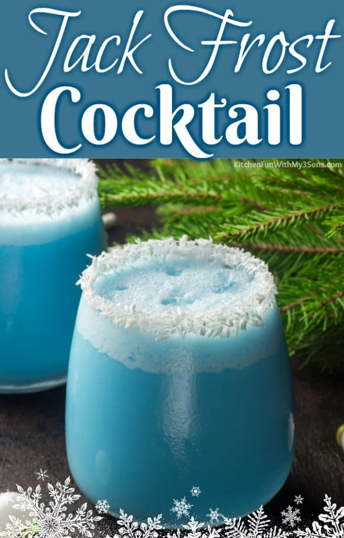 Jack Frost Cocktail Pinterest