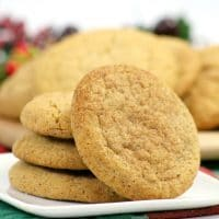 Maple Snickerdoodles - Soft and Chewy