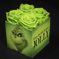 You Can Get Grinch Roses For That Special Someone And Watch Their Heart Grow Three Size
