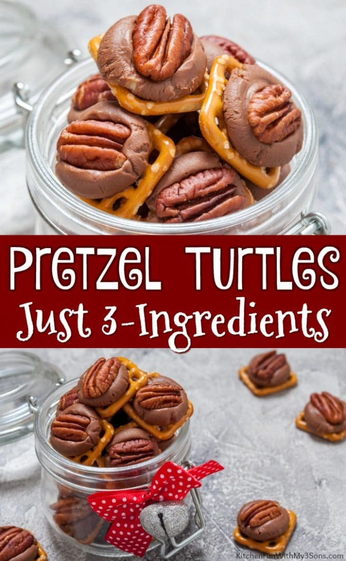Pretzel Turtles Candy