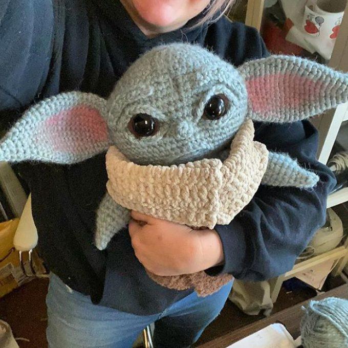 Mestre Yoda Amigurumi no Elo7 | Bru Crochet (E4179E) | 680x680