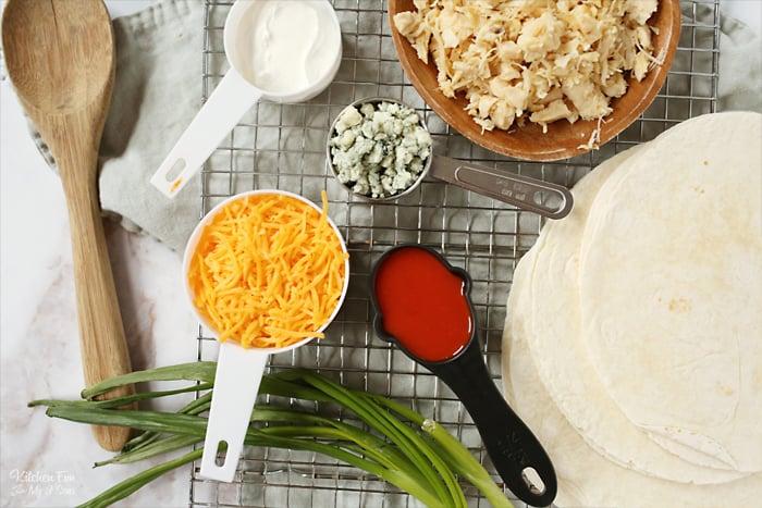 Roll Ups Ingredients