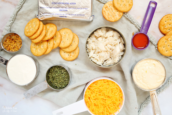 How To Make Crab Dip Ingredients