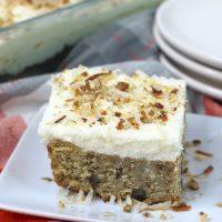 Italian Cream Sheet Cake Recipe