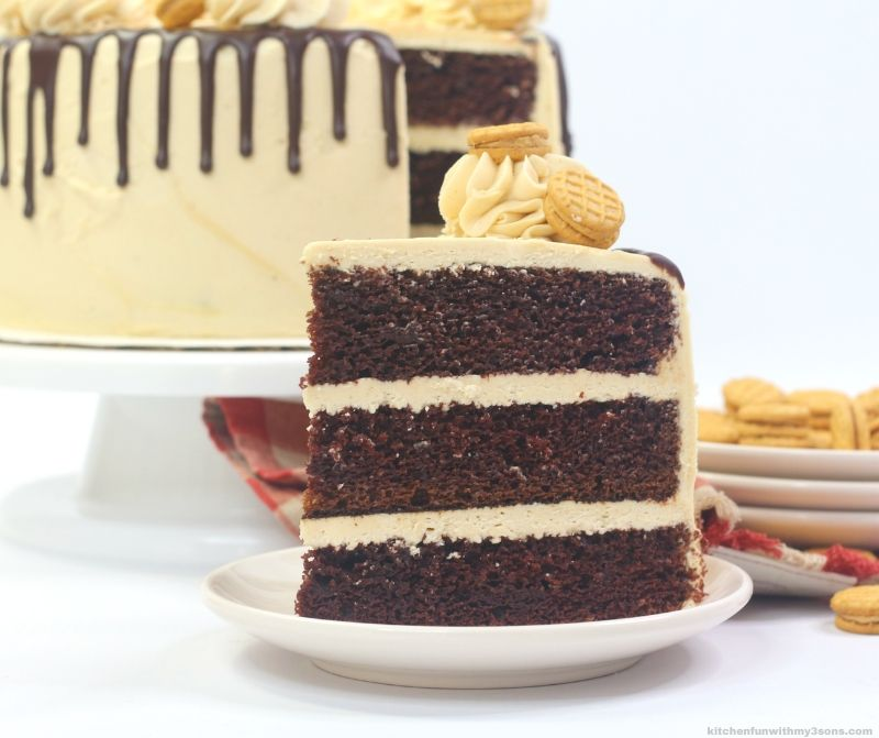 Reese's Nutter Butter Peanut Butter Cake Recipe