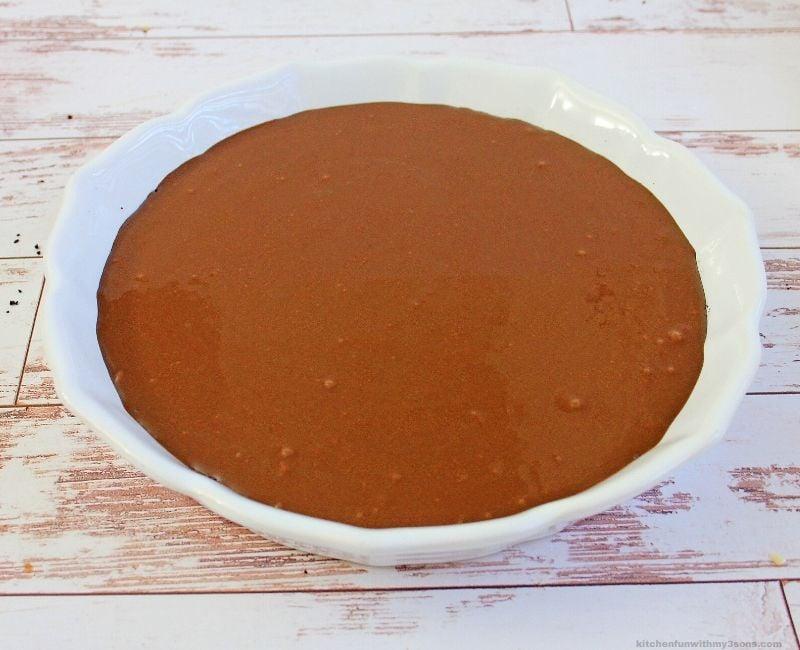 chocolate fudge pie filling