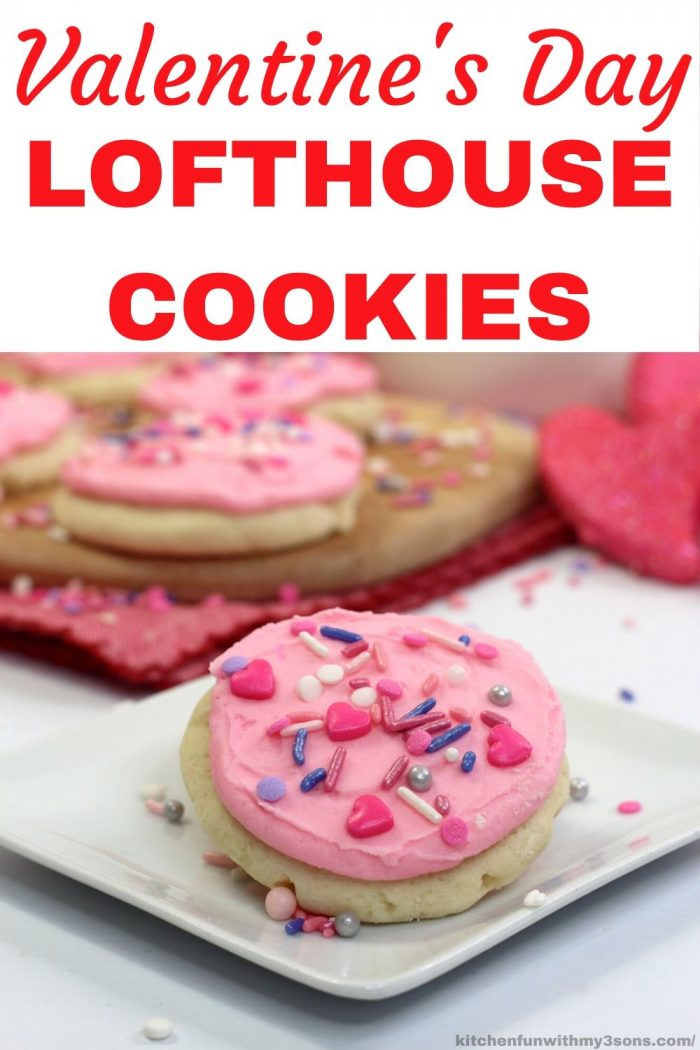 Valentines Day Lofthouse Cookies for pinterest