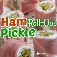 Ham Pickle Roll-Ups