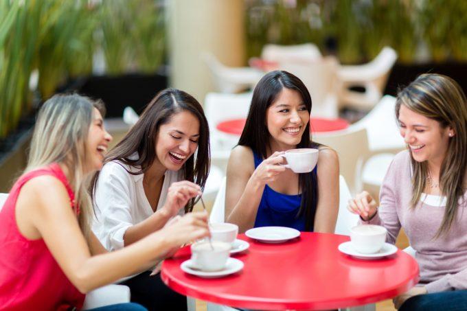 Girl Friends Lunch