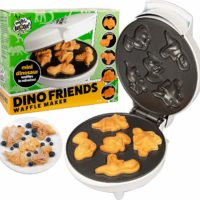 Mini Dinosaur Waffle Maker for Kids that Love Dinosaurs