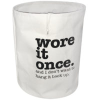 'Wore It Once' Laundry Hamper That Can Replace 'The Chair' In Your Bedroom