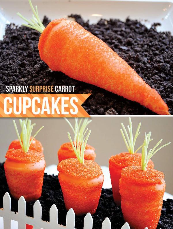 Surprise Carrot Cupcakes